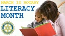 March is Rotary Literacy Month