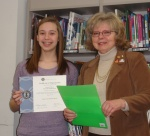 Interact Club and Rotary Club Presidents