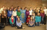 BMS Interact Club and Rotarians