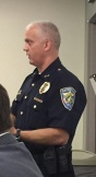 Chief Holt talks about drug issues (9/29/16)